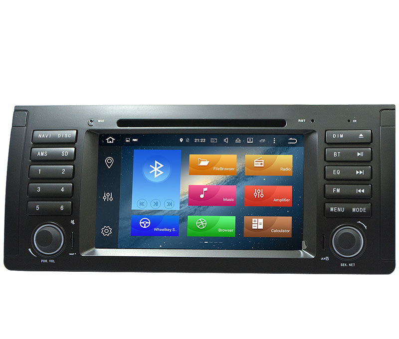 Discount HIRIOT 7 IPS Android 8.0 CAR DVD GPS Player For BMW E39 E53 1995-2003 M5 X5 Octa 8 Core 4G RAM 32G ROM Radio BT Map DAB+TPMS SD 2