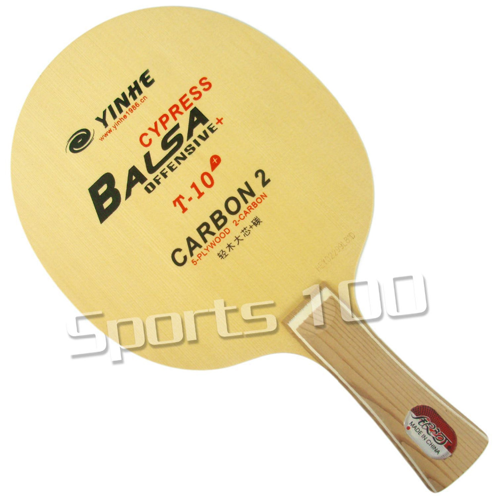 Yinhe Milky Way Galaxy T 10+ T10+ T 10+ table tennis PingPong blade 2015 The new listing Favourite