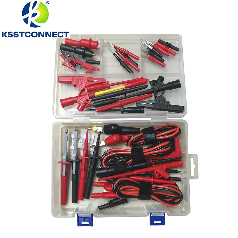 DMM2000 Electronic Specialties Test Lead kit Back Probe Alligator Piercer Hook Multimeter test kit Accessories
