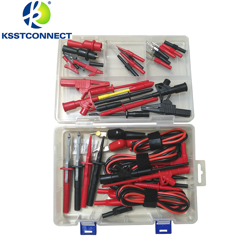 DMM2000 Electronic Specialties Test Lead kit Back Probe Alligator Piercer Hook Multimeter test kit Accessories infrared detection automatic door 2012 latest competition kit electronic product assembly and commissioning test