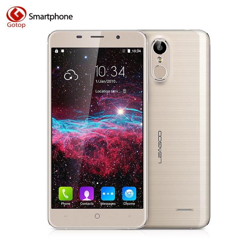 Цена за Оригинал Leagoo M5 Смартфон 5.0 Дюймов Android 6.0 MTK6580A Quad ядро Мобильного Телефона 2 ГБ RAM 16 ГБ ROM 8.0MP Отпечатков Пальцев Сотовый телефон