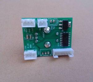 Image 2 - مزدوج لوحة قياس جهد رقمي عن بعد الصوت حجم كونترو مع led 20Hz 20KHz لمكبر للصوت تيار مستمر 5v 12v
