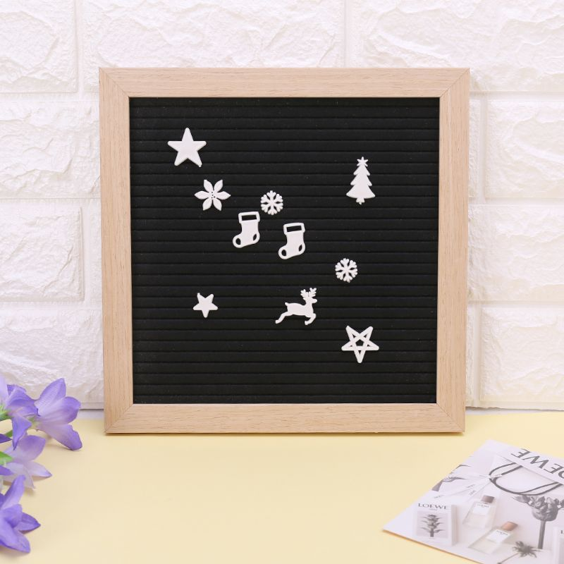 2019 New New Christmas Felt Sign Board Plastic Letters For Felt Letters Board For Sign Board