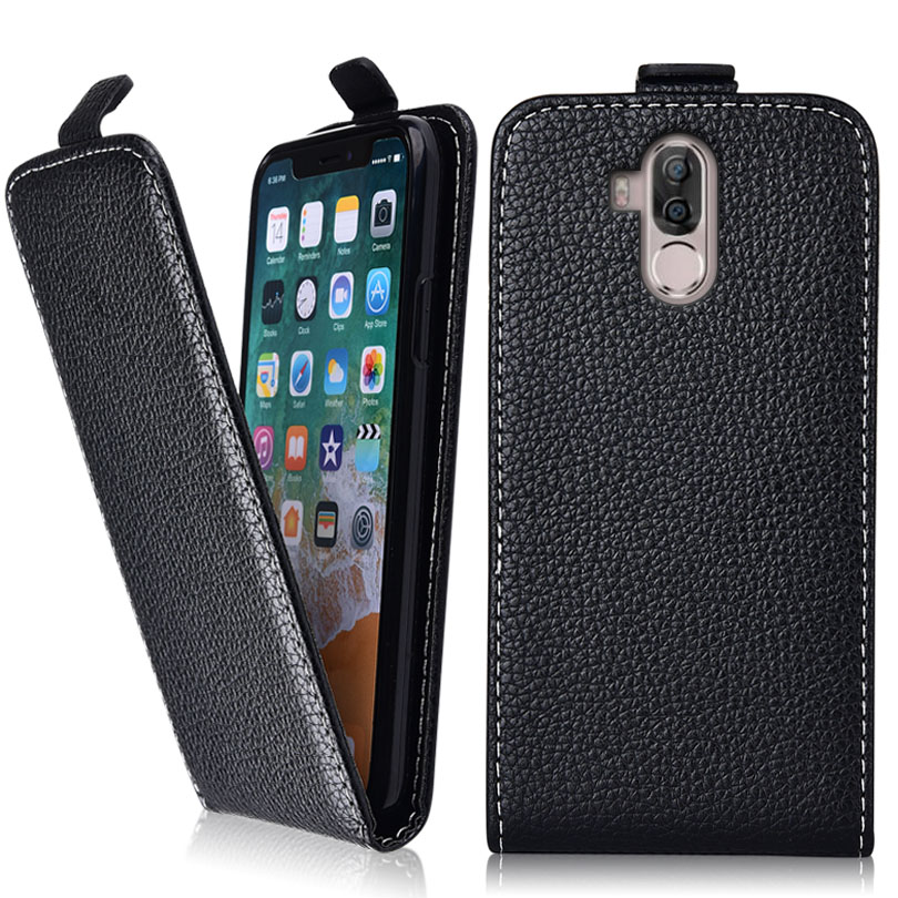 Vintage Flip Case For Ulefone Power 3S Case 100% Special Cover PU  and Down Plain Cute phone bag