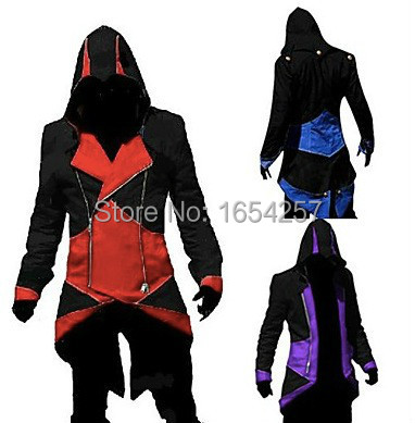 วิดีโอเกม Assassinator Hoodie ชุดคอสเพลย์