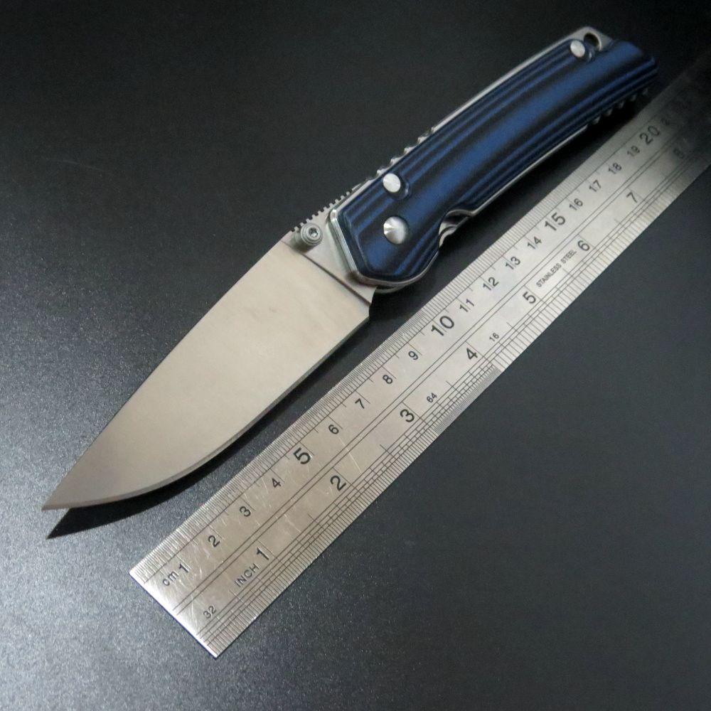 High Quality EDC font b Knife b font DZ1 Custom D2 Steel blade Folding font b
