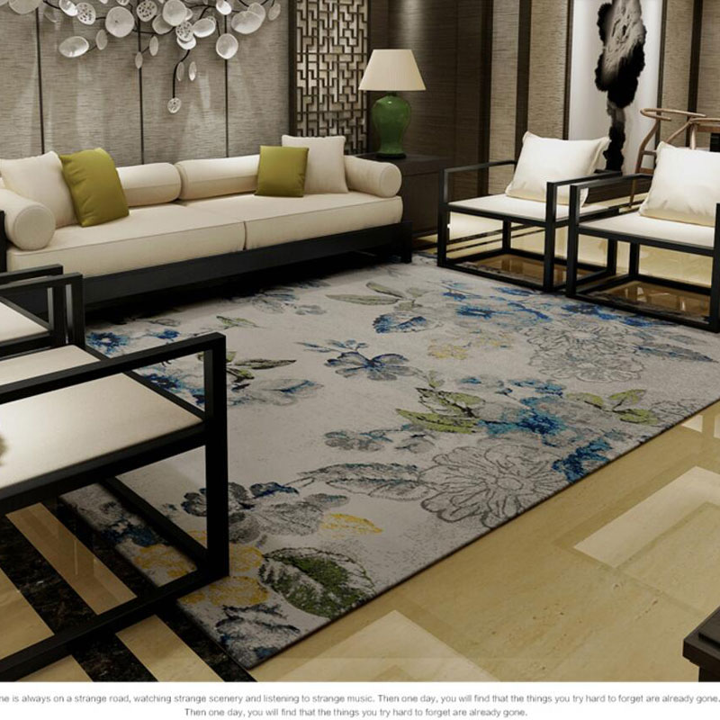 Carpet For Bedroom: 160X230cm Big Size Egyptian Carpet Coffee Table Rugs And