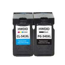 2 unids para canon 540 541 xl pg540 cl541 cartucho de tinta conveniente para canon mg2150 mg2250 mg3150 mg3250 mg3550 mg4150 mg4250 MX375