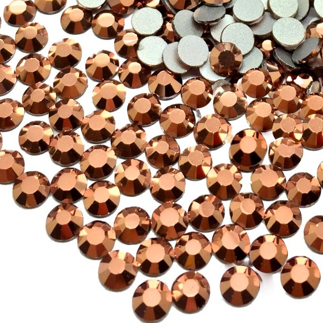 Crystals Rose Gold Rhinestones For Nails Design Gems Strass Nail Art