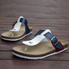 35-44 plus size leisure unix cork slippers 2016 summer women's flips flops slides  cork sandals sandalias de corcho femeninos