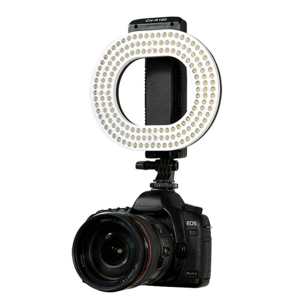 NanGuang LED Photography Video Ring Light 5600K/3200K dimmable Photo Lighting For Canon Nikon Sony DSLR DV Camera Studio LampNanGuang LED Photography Video Ring Light 5600K/3200K dimmable Photo Lighting For Canon Nikon Sony DSLR DV Camera Studio Lamp