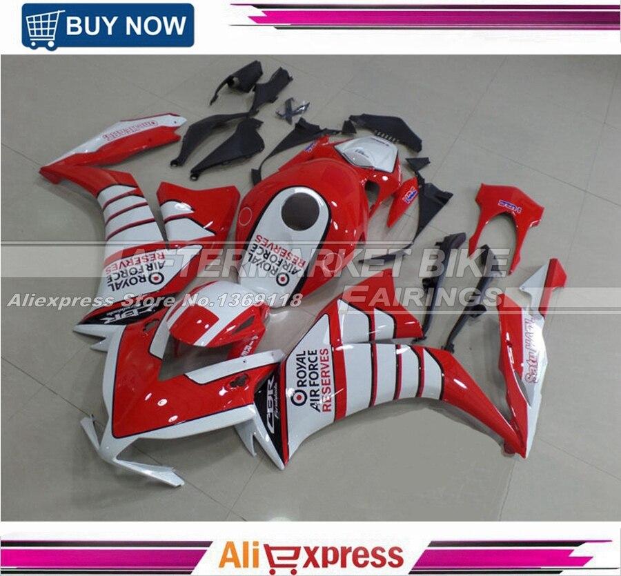 Для Honda крыла наклейки обтекатель КУЗОВ CBR1000RR 2012 13 14 лет полный ABS Пластик мотобайк крышка