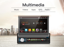 Single 1 Din Android 6.0 Quad Core Universal Auto DVD GPS Multimedia 7 zoll Kapazitiven Kassettenspieler WIFI Bluetooth