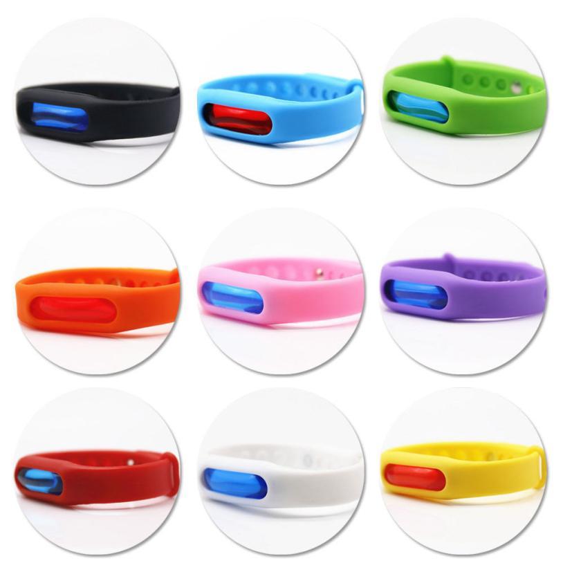 2Pcs Bracelet Anti Outdoor Insect Repellent Repeller Wrist Bands Safe Mosquito Repellent Bracelet Protection Baby Pest Control