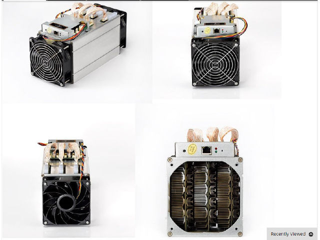 Antminer S7 4.73T Bitcoin miner 4730G BTC Mining machine 28nm BM1385 chip SHA256 miner  with two cooling fan