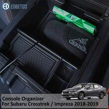 Подлокотник органайзер для Subaru Crosstrek Subaru Impreza 2018 2019 центральная консоль Органайзер лоток для Subaru перчаточный ящик для хранения