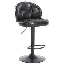 Barra clásica Continental cafetería de silla taburete alto de moda con respaldo elevador y silla giratoria Taburetes de Bar hokery