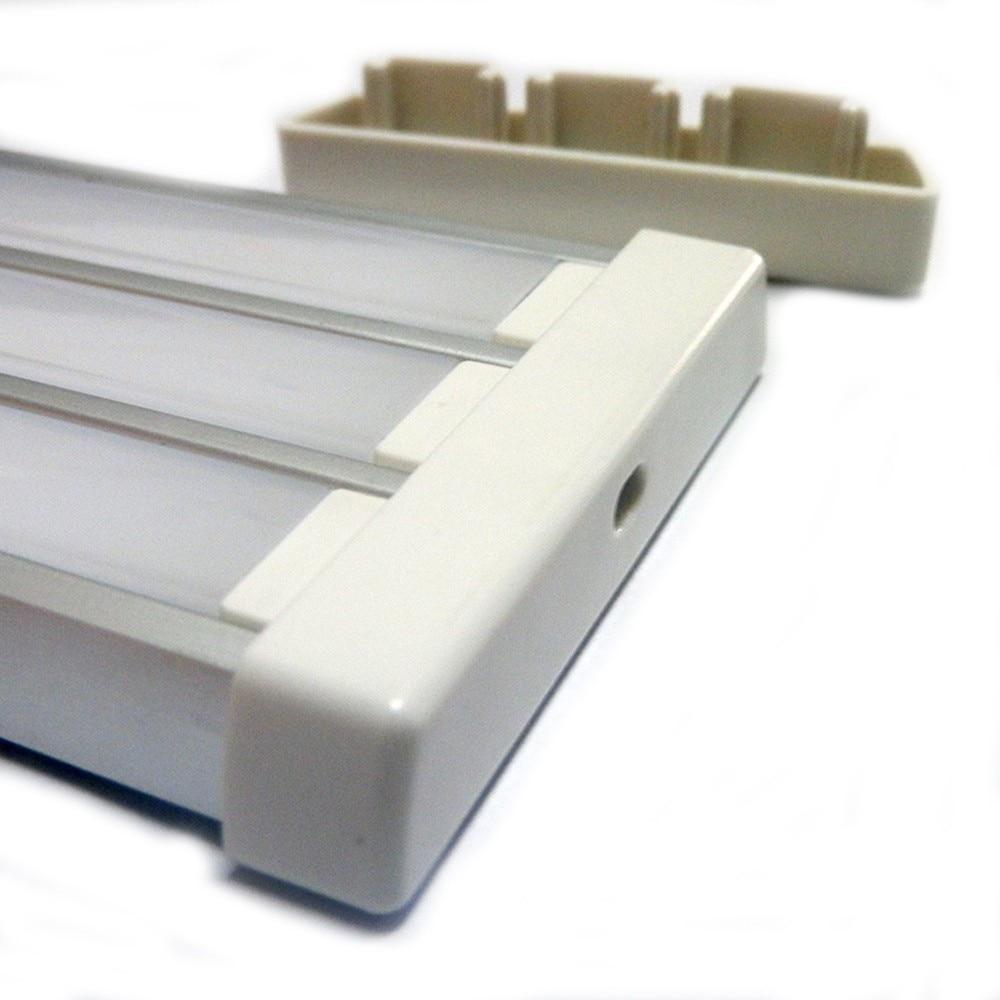 20m hodně 2m na kus SN6009-2M led hliníkový profil led profil hliník pro led pásy bar světlo 3 kanál