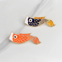 Japanese Koi Fish Brooche
