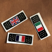 England France Italy National flag band Aid style funny Car scratch sticker for bmw mercedes renault ford fiat kia accessories 3d metal france flag car sticker accessories stickers for renault peugeot citroen cruze chevrolet ford focus vw golf benz bmw
