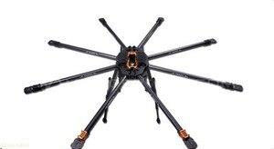 Image 2 - T18 photographie aérienne 25mm Fiber de carbone Protection des plantes aéronef sans pilote (UAV) TL18T00 Octocopter cadre 1270MM FPV F08167