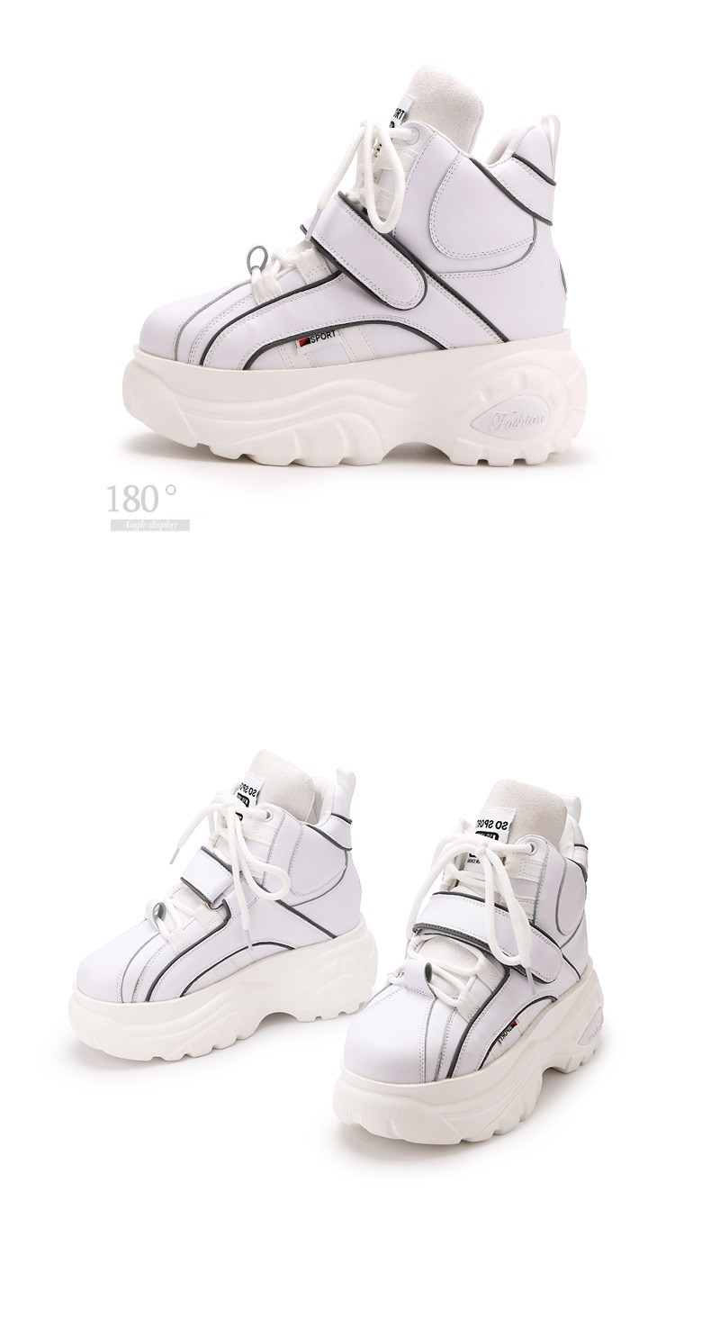 Shop Cheap sale Retro Thick Platform Chunky Sneakers