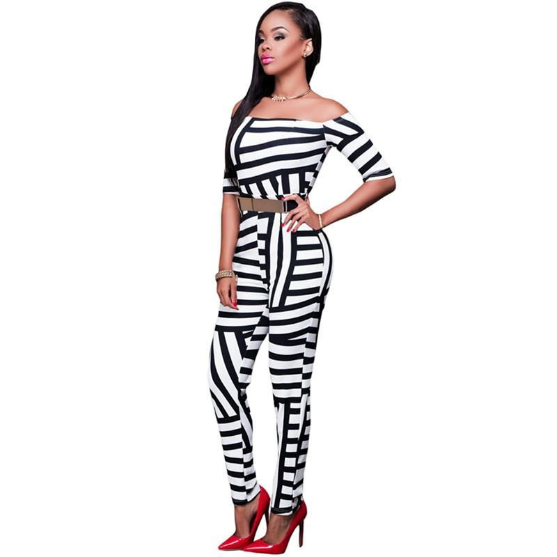 Monochrome-Stripe-Print-Belted-Off-Shoulder-Jumpsuit-LC64179-3