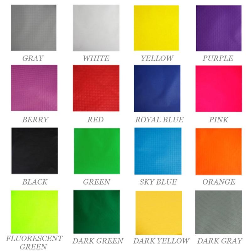 2 Yards Pu Coated Waterproof Nylon Fabric Hot Pink Color 40d Nylon