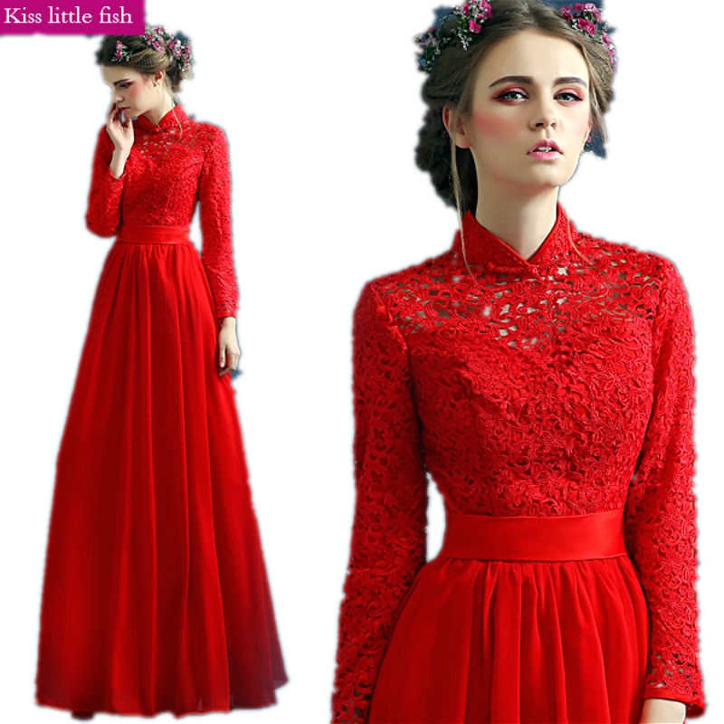 007 Free shipping Hot sale long evening dress 2019 new arrival formal dresses muslim evening dress