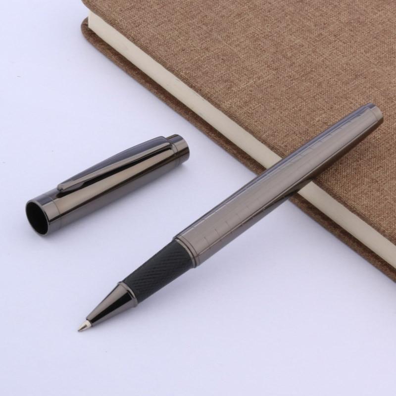 NEW GUN Grey Lacquered Twist Medium OFFICE Roller ball Pen