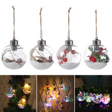LED Night Light Bulb Hemp Rope Hanging Home Decoration Lamp for Christmas Party Wedding CLH@8(China)