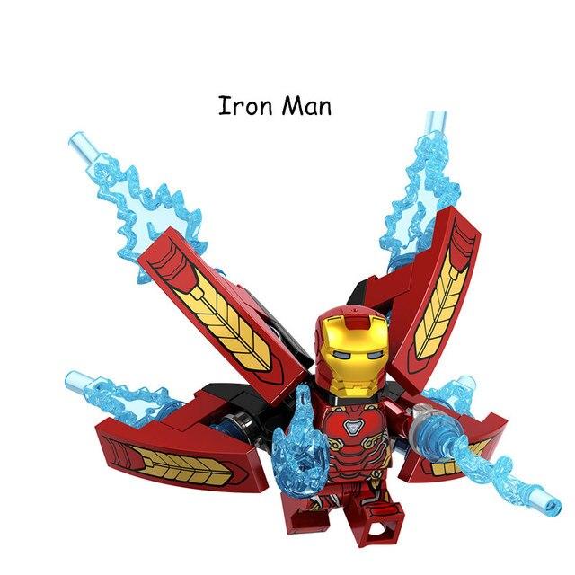 Endgame 10 pcs Avengers Coleção Figuras de Super-heróis blocos de Construção Legal Homem De Ferro Crianças brinquedos de presente