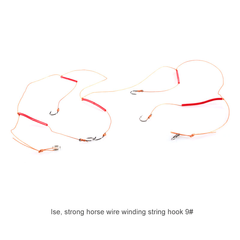 1Pcs Stainless Steel Anti-Winding Fishing String Hook Rigs Swivel Fishing Tackle Lures Pesca Baits Combination 5 Hook