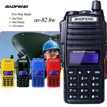 10Km Walkie Talkie Baofeng Uv-82 Real 8W Baofeng With High Mid Low Power UV 82 Ham Radio Station amateur Portable Radio