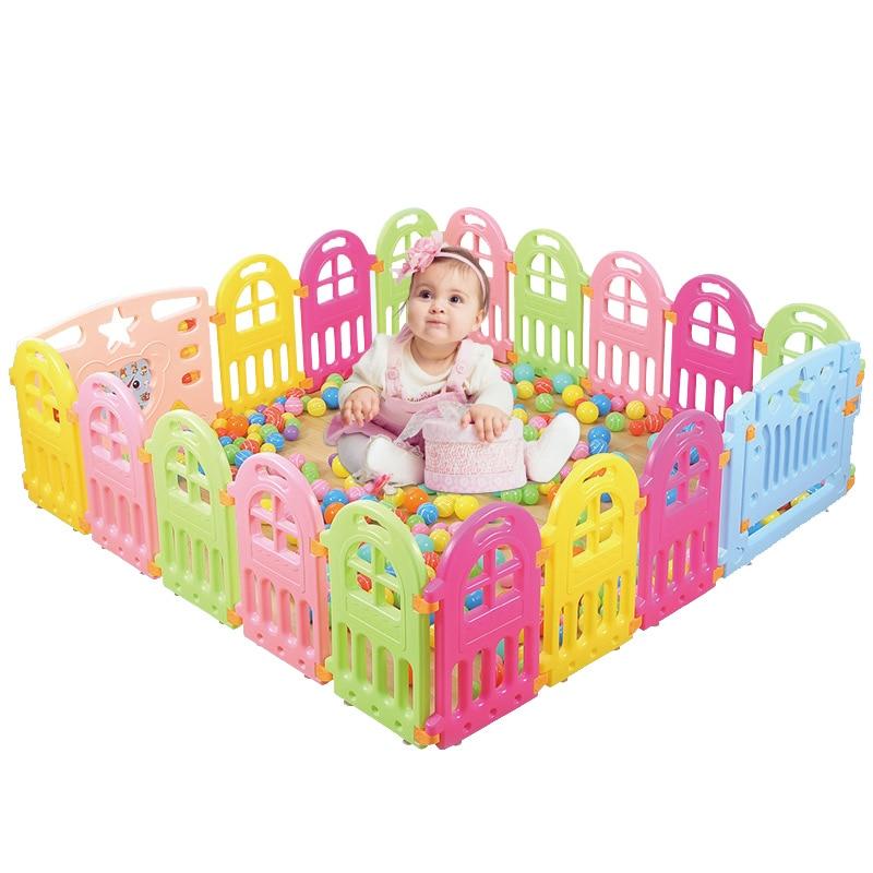 Parc bébé En Plastique Clôtures Pour Enfants