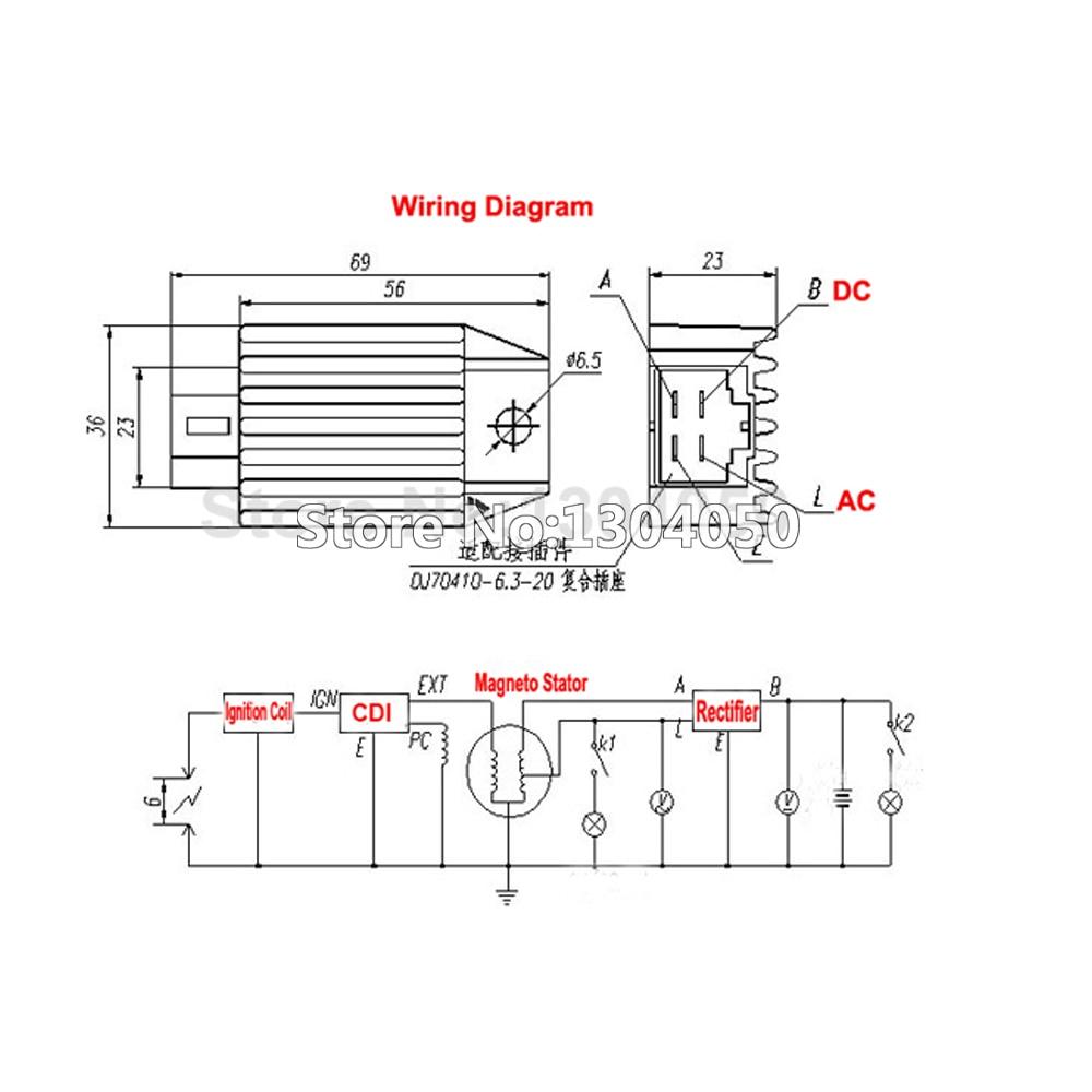 gy6 regulator wiring diagram free download wiring diagram xwiaw dc rh xwiaw us 50Cc Scooter Stator Wiring Diagram Chinese ATV Wiring Diagrams