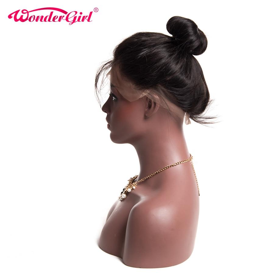 Mrekullia vajzë Para mbushur 360 dantella Mbyllje frontale me flokë - Flokët e njeriut (të zeza) - Foto 1