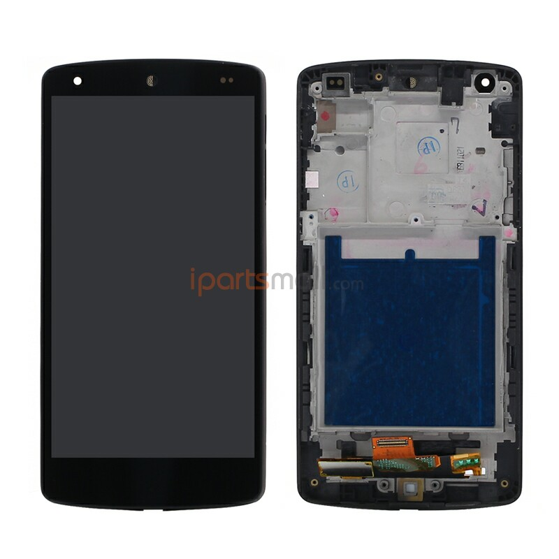 Original Genuine OEM For LG Nexus 5 D820 D821 LCD Screen Display With Touch Digitizer and Front Frame Assembly Ship BY DHL EMS new lcd touch screen digitizer with frame assembly for lg google nexus 5 d820 d821 free shipping
