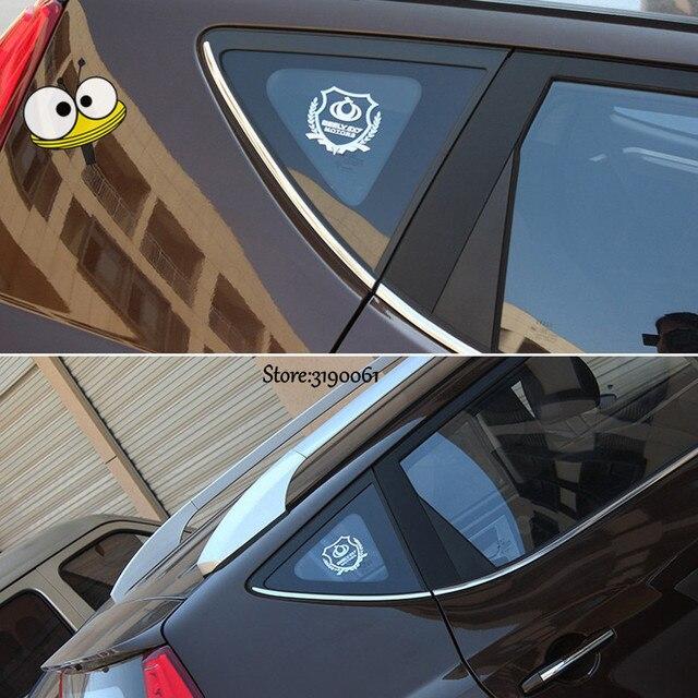 Pegatina de coche dorada para ventana, emblema, insignia, calcomanía, accesorios de coche para Ssangyong Actyon Rexton Kyron Korando Rodius, Presidente Musso XLV