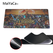 MaiYaCa New Design Video Games League Of Legends lol Mouse Pad All Hero Mousepad Laptop