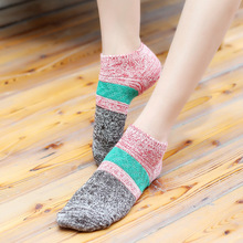 5pair/lot Autumn And Winter Cotton women funny Socks Thickening Keep Warm Hair Socks Woman sock hosiery female