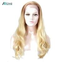 Естественная волна русый Синтетические волосы на кружеве натуральные волосы парики Allove бразильский Реми натуральные волосы парики 150% плот