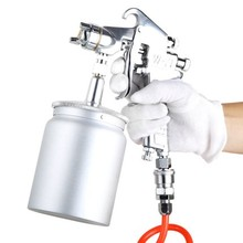 1.5mm Spray Gun Paint Mini Gravity Feed pot volume 400ml 600ml Sprayer