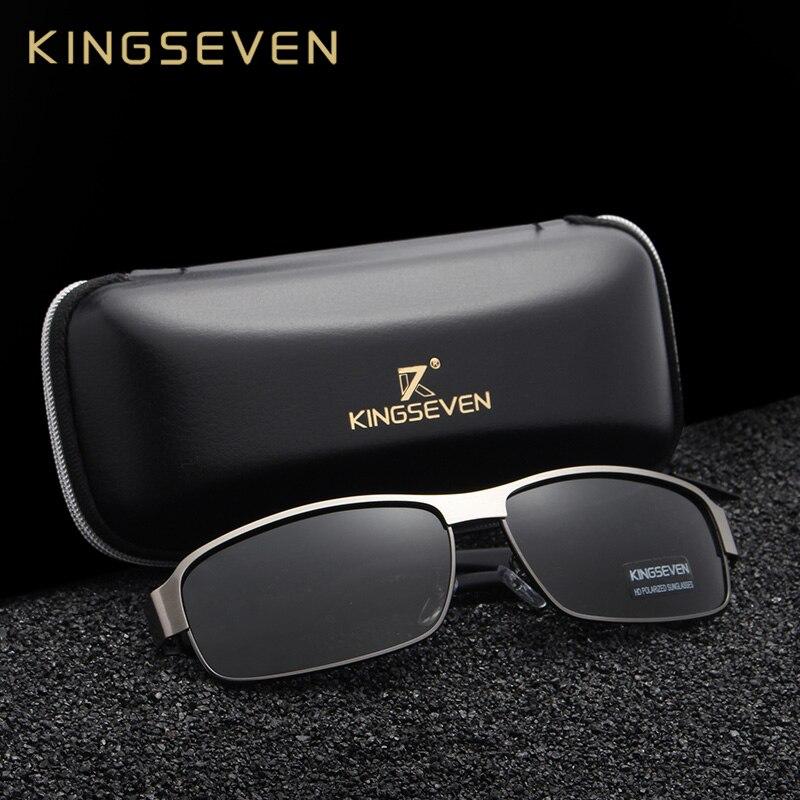 b650743e722bc KINGSEVEN Moda Óculos De Sol Dos Homens de Condução Óculos De Sol Para Homens  Óculos de