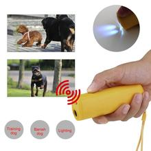3 in 1 Anti Barking Stop Bark Dog Training LED Ultrasonic Anti Bark Barking Dog Training Repeller Control Trainer Device Hot New ultrasonic audible control no bark collar stop barking dog training device