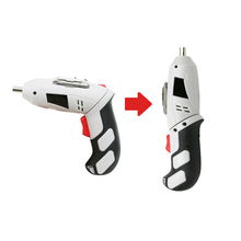Купить с кэшбэком 45pcs electrician drill screwdriver power tool accessories household 4.8V rechargeable hand tool box set multi tool kit DN156