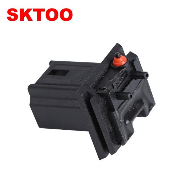 SKTOO Black Tailgate Boot Micro Switch For Citroen C3 C4 C3 for Peugeot 206 307 308 407 6554V5