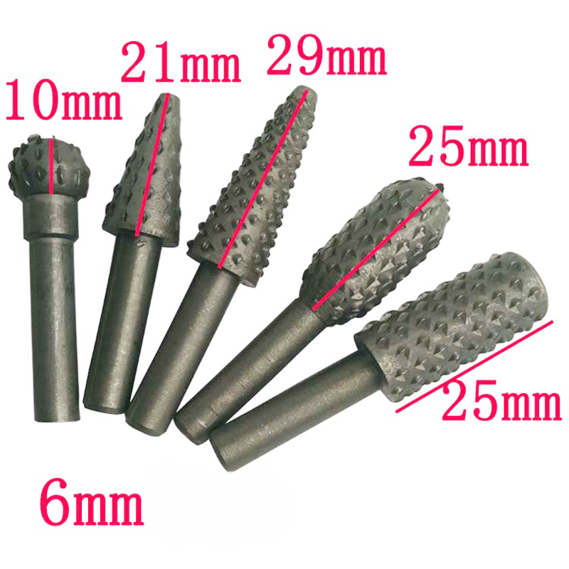 5 pz hss Power Tools fresa legno set di punte da trapano strumenti - Punta da trapano - Fotografia 2