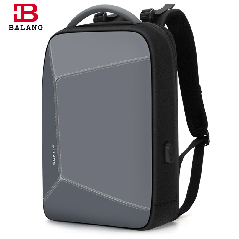 Balang 2019 New Multifunction Anti theft Backpack Men Waterproof Travel Bag Unisex Laptop Backpack Fashion School Bags for girls-in Backpacks from Luggage & Bags    1
