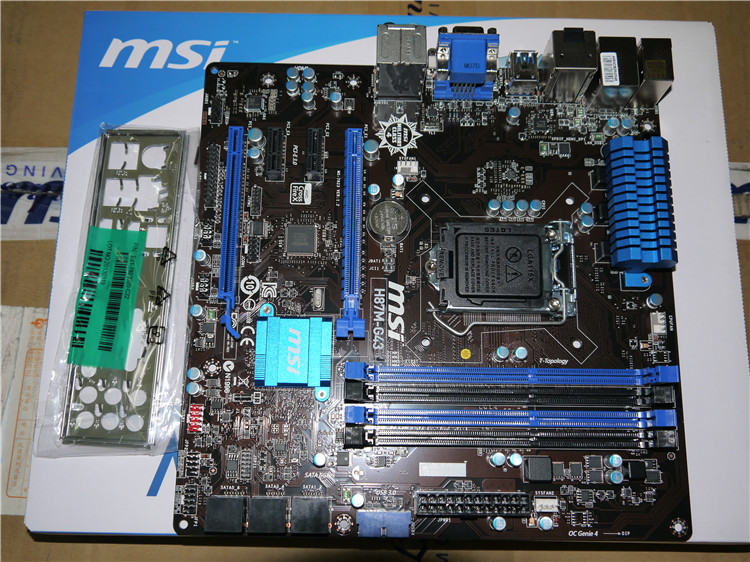 MSI H87M-G43 1150 H87 motherboard supports E3 1230 V3 4570 msi original zh77a g43 motherboard ddr3 lga 1155 for i3 i5 i7 cpu 32gb usb3 0 sata3 h77 motherboard